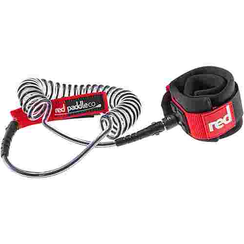 Red Paddle Water Coiled Leash SUP Board schwarz