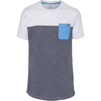 CORE by JACK & JONES JCOSECT T-Shirt Herren white melange