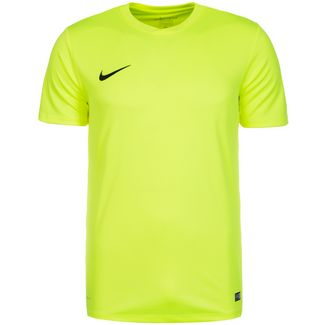 Nike Park VI Fußballtrikot Herren lime / schwarz