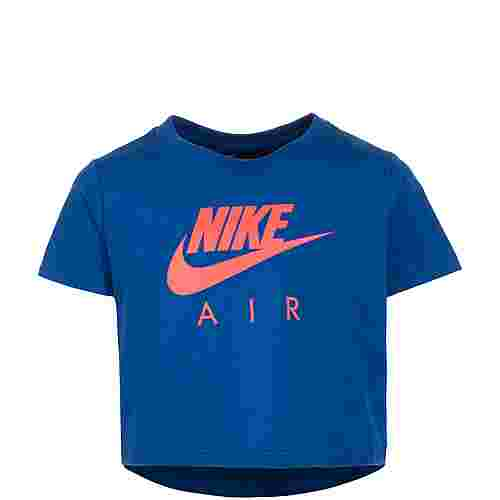 Nike Air Crop T-Shirt Kinder dunkelblau