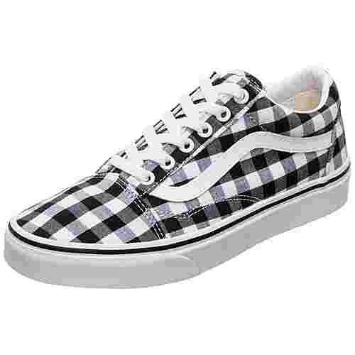 Vans Old Skool Sneaker Damen schwarz / weiß