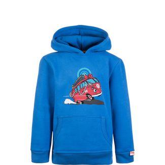 VAN ONE Fire Hoodie Kinder blau