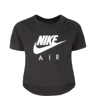 Nike Air Crop T-Shirt Kinder schwarz