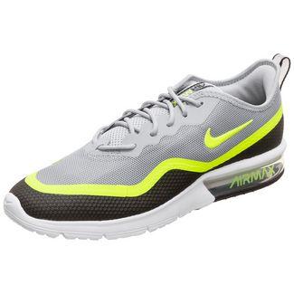 Nike Air Max Sequent 4.5 SE Sneaker Herren grau / neongelb
