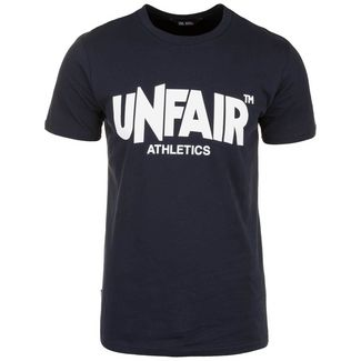 Unfair Athletics Classic Label T-Shirt Herren dunkelblau
