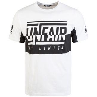Unfair Athletics No Limits T-Shirt Herren weiß / schwarz
