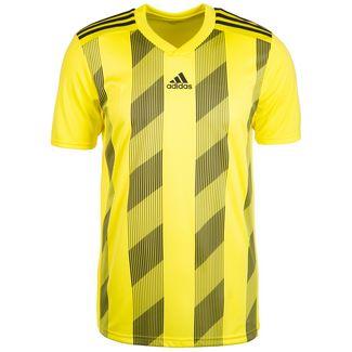 adidas Striped 19 Fußballtrikot Herren gelb / schwarz