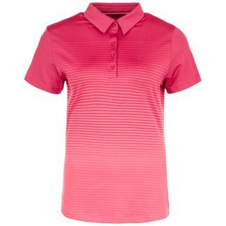 Under Armour Zinger Novelty Poloshirt Damen pink