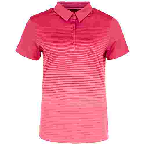 Under Armour Zinger Novelty Poloshirt Damen pink
