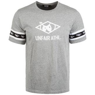 Unfair Athletics Big Hash T-Shirt Herren hellgrau / weiß