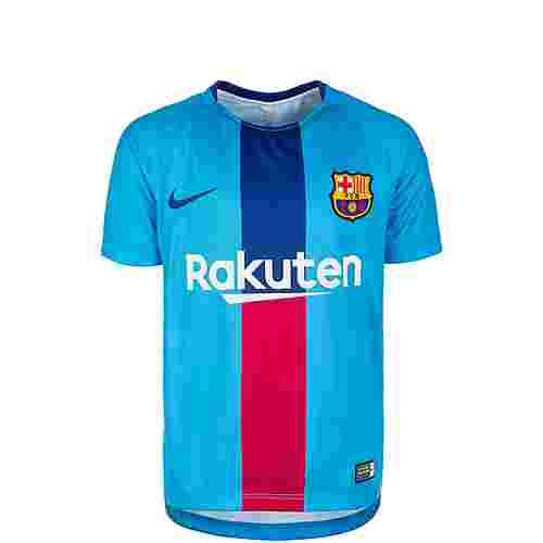 Nike FC Barcelona Dri-FIT Squad Fanshirt Kinder blau / rot