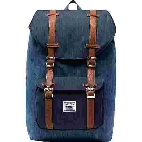 Herschel Little America Mid-Volume Daypack blau / braun