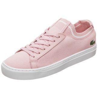 Lacoste La Piquée Sneaker Damen rosa / weiß
