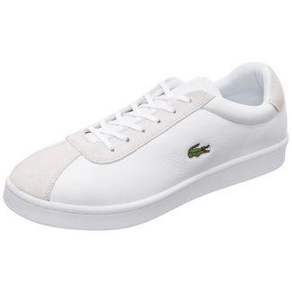 Lacoste Masters Sneaker Herren weiß / beige