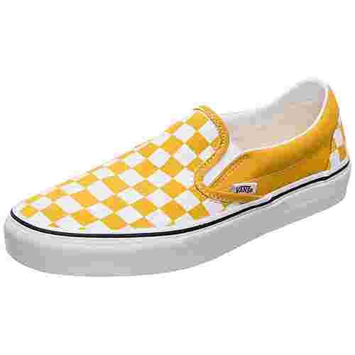 Vans Classic Slip-On Sneaker Damen gelb / weiß