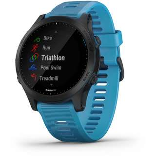 Garmin Forerunner 945 Tri Bundle Sportuhr black-blue