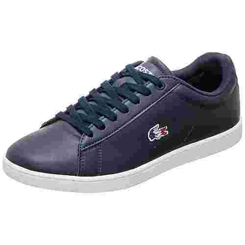 Lacoste Carnaby Evo Sneaker Damen dunkelblau / weiß