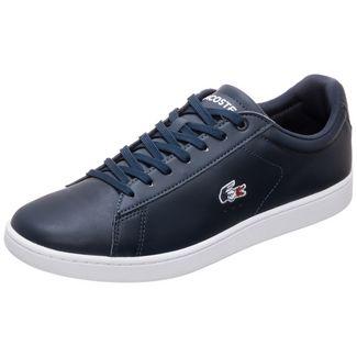 Lacoste Carnaby Evo Sneaker Herren dunkelblau / weiß