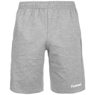 hummel HMLGO Cotton Shorts Herren hellgrau
