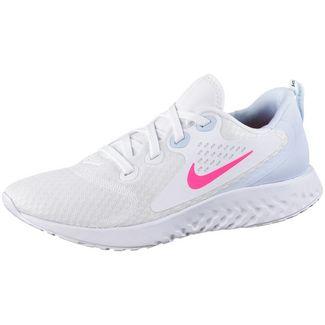 Nike Legend React Laufschuhe Damen white-hyper pink-half blue-black