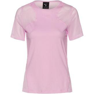 Nike Pro Funktionsshirt Damen pink foam-clear