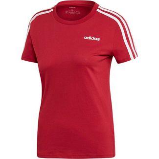 adidas Essential 3S T-Shirt Damen active maroon