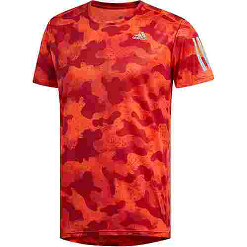 adidas OWN THE RUN Laufshirt Herren active-orange
