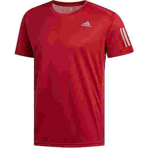 adidas OWN THE RUN Laufshirt Herren active-maroon
