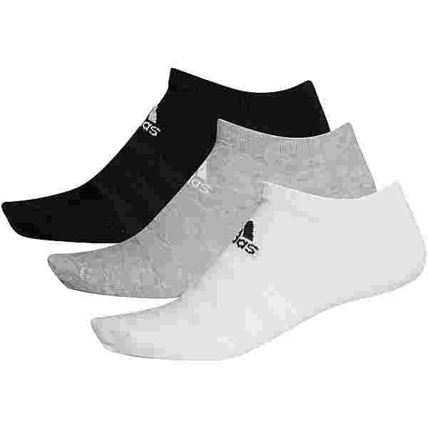 adidas Light Low Essentials Socken Pack medium grey-heather