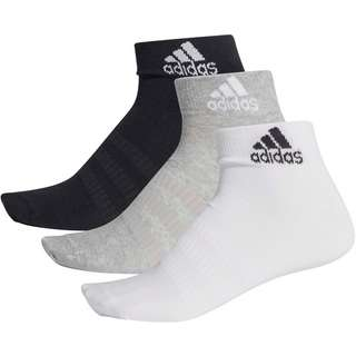 adidas Light Ankle Essentials Socken Pack medium grey-heather