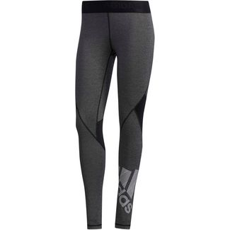 adidas Alphaskin Badge of Sport Tights Damen black
