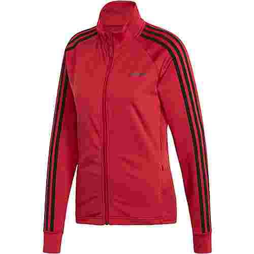 adidas D2M Trainingsjacke Damen active maroon
