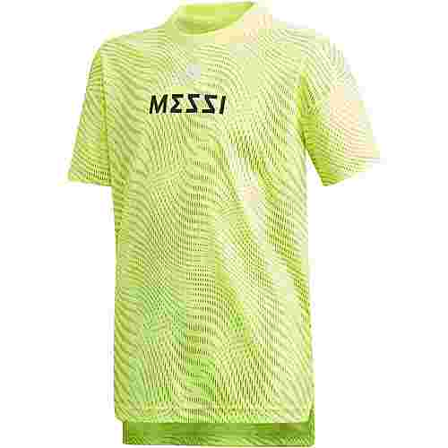 adidas Messi Funktionsshirt Kinder solar-yellow