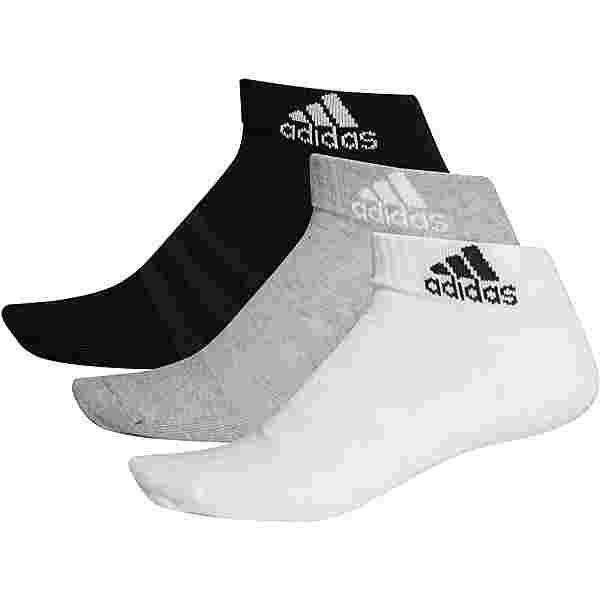 adidas Essentials Sneakersocken Kinder medium grey heather