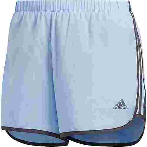 adidas M20 Laufshorts Damen glow blue