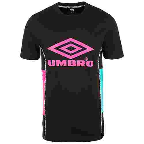 UMBRO Horizon T-Shirt Herren schwarz / pink