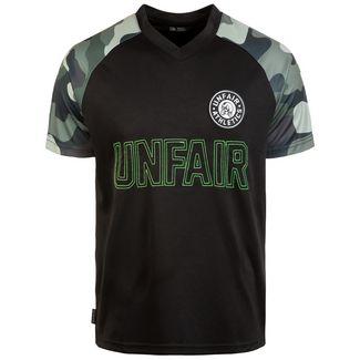 Unfair Athletics Black Camo T-Shirt Herren schwarz / dunkelgrün