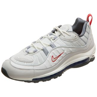 Nike Air Max 98 Sneaker Herren weiß / silber