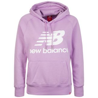 NEW BALANCE Essentials Hoodie Damen flieder