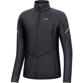 GORE® WEAR M D Thermo Zip Fahrradtrikot Damen black