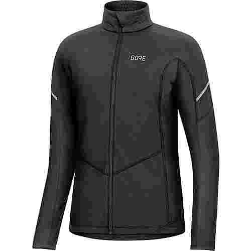 GORE® WEAR M D Thermo Zip Fahrradtrikot Damen black