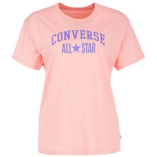 CONVERSE All Star Relaxed T-Shirt Damen korall