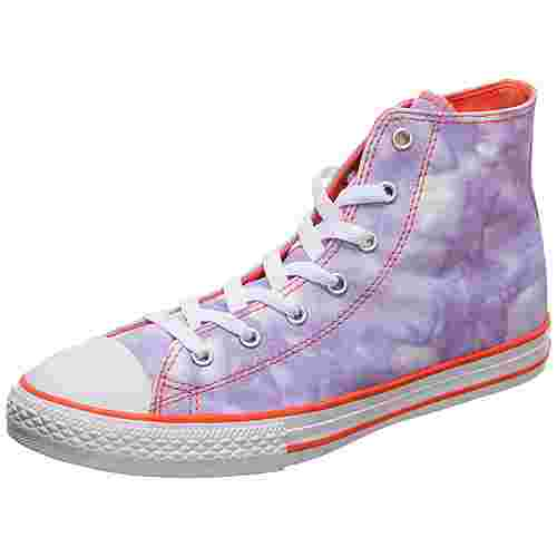 CONVERSE Chuck Taylor All Star Sneaker Kinder lila / orange