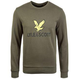 Lyle & Scott Logo Sweatshirt Herren oliv