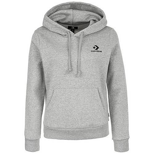 converse hoodie damen grau