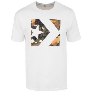 CONVERSE Star Chevron Camo Print Box T-Shirt Herren weiß