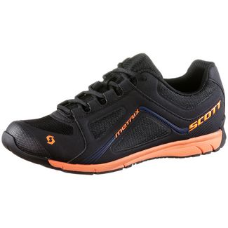 SCOTT Metrix Fahrradschuhe black-orange