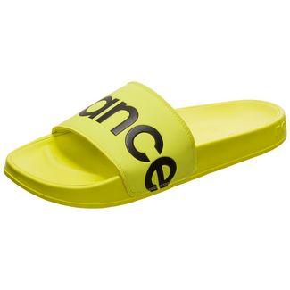 NEW BALANCE SMF 200 Slide Sandalen Herren gelb / schwarz