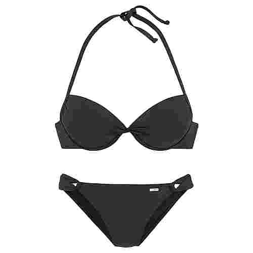sunseeker Bikini Set Damen schwarz