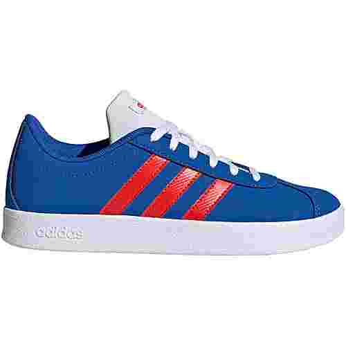 adidas VL Court Sneaker Kinder blue